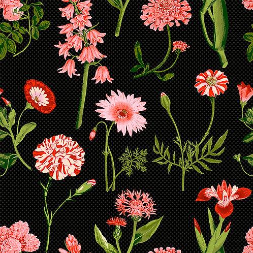Amanda Floral 6523 Black