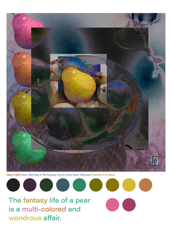 2021 May 2 The Fantasy Life of a Pear