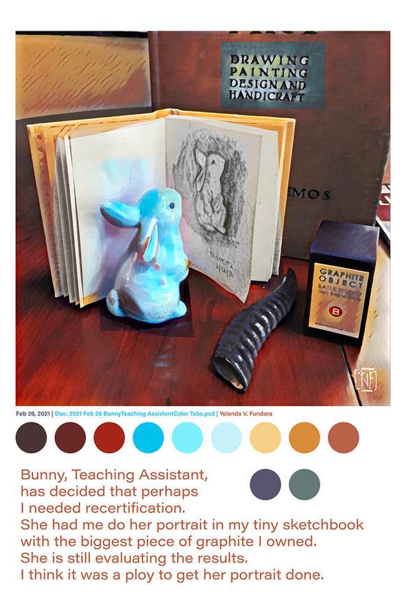 2021 Feb 26 Bunny Teaching Assistant