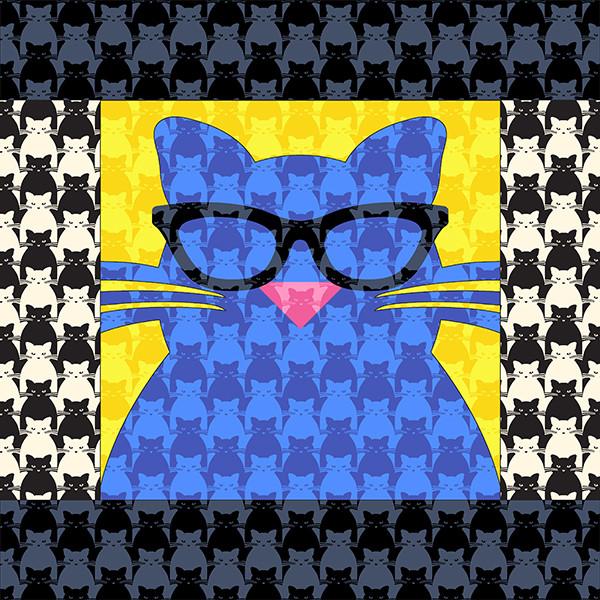 BartholoMEW in Kitty Kitty fabrics