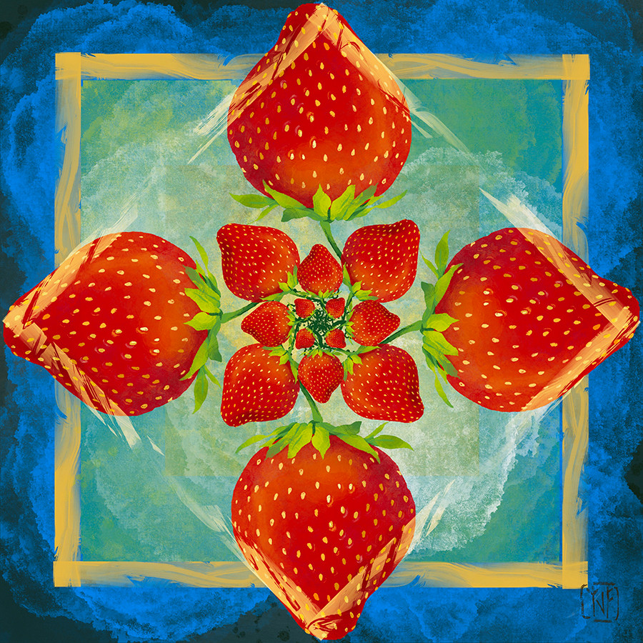 6_5_2020 Strawberry Dreams Tile