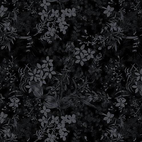 Textured Garden 6491 Black