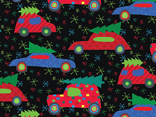 Deck the Hall (Cars with Trees)