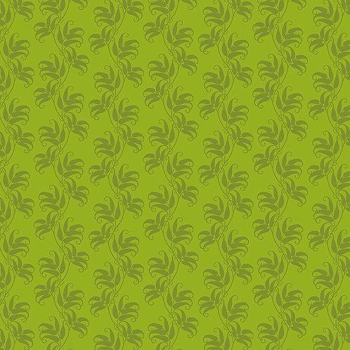Leaf Stripe 6526 Green