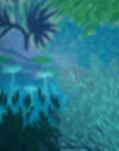 Détail de la fresque murale