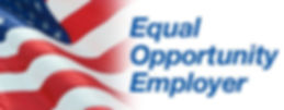 american flag with equal opportunity employer