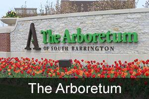 The Arboretum of South Barrington monument sign