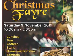 Christmas Fayre - Saturday 9 November