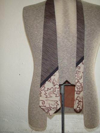 Handmade men's necktie