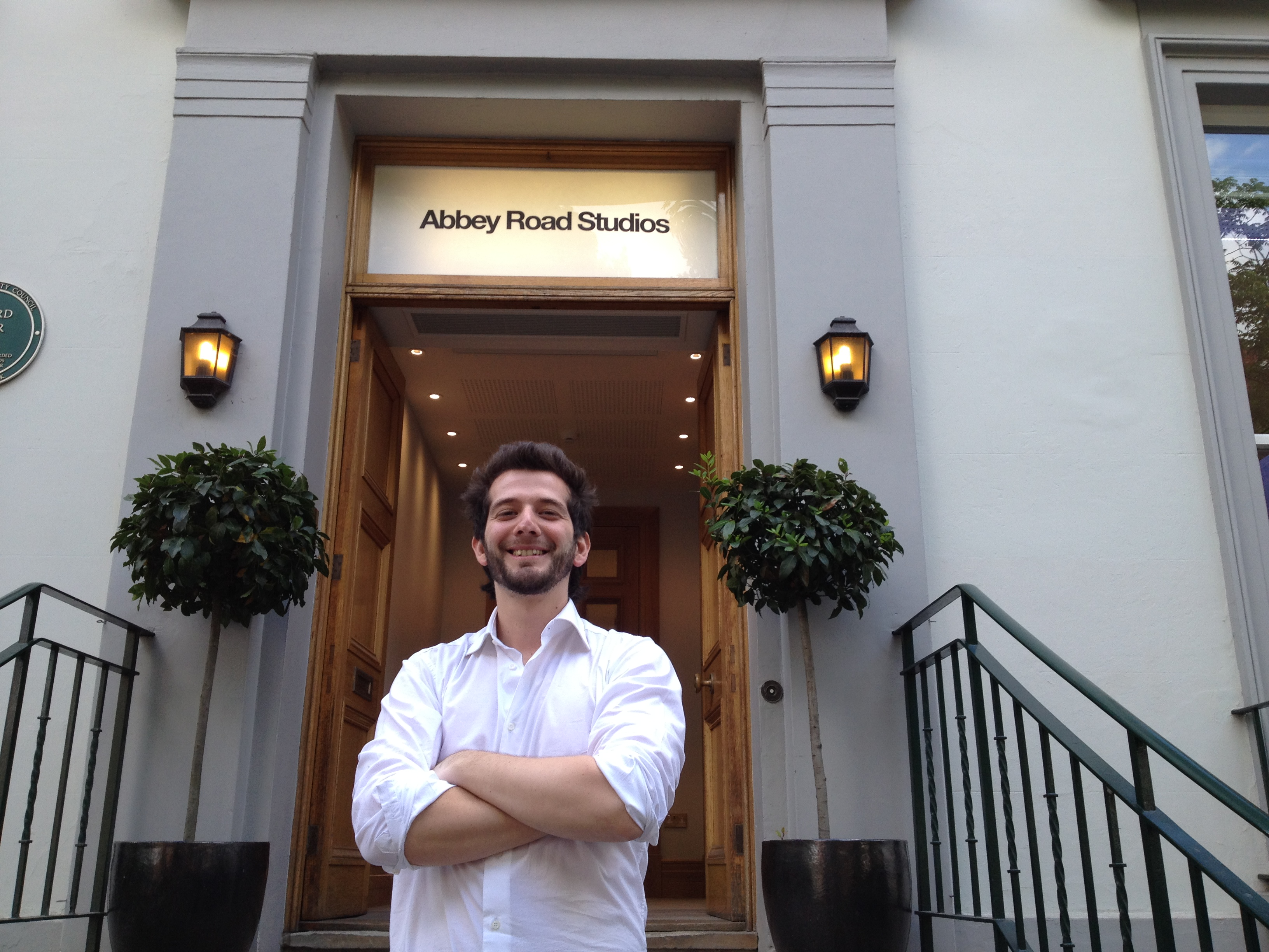 Abbey Road Studios - Ready to get in