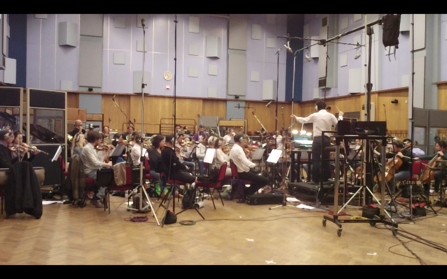 Recording at Abbey Road Studios
