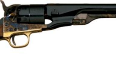 Colt Style Precussion Revolver Steel Frame