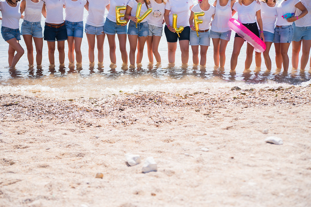 EVJF - A la plage de Carry