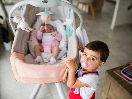Chloé vous présente sa petite soeur Romane