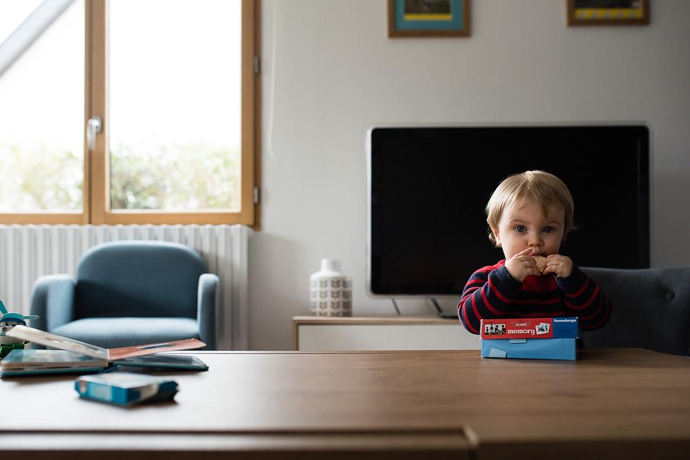 Portrait du quotidien - La bouille d'un enfant