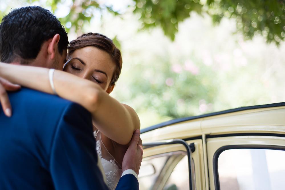 photo des mariés à Salon-de-Provence