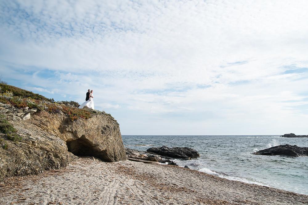 Séance Couple à la plage - After the day ou Trach the dress - Ile des Embiez