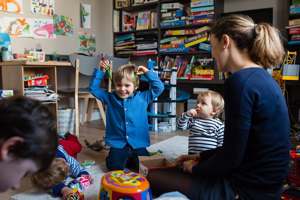 Moments du quotidien - les jeux des enfant