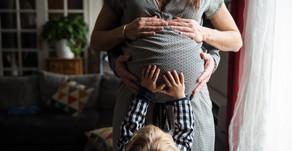 La vie à 3 (et demi) - Reportage photo Grossesse à domicile