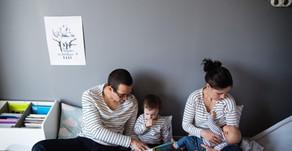 Reportage photo nouveau-né à domicile - Des moments vrais