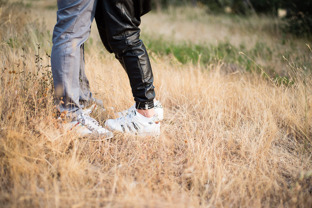 Séance photo couple... les pieds