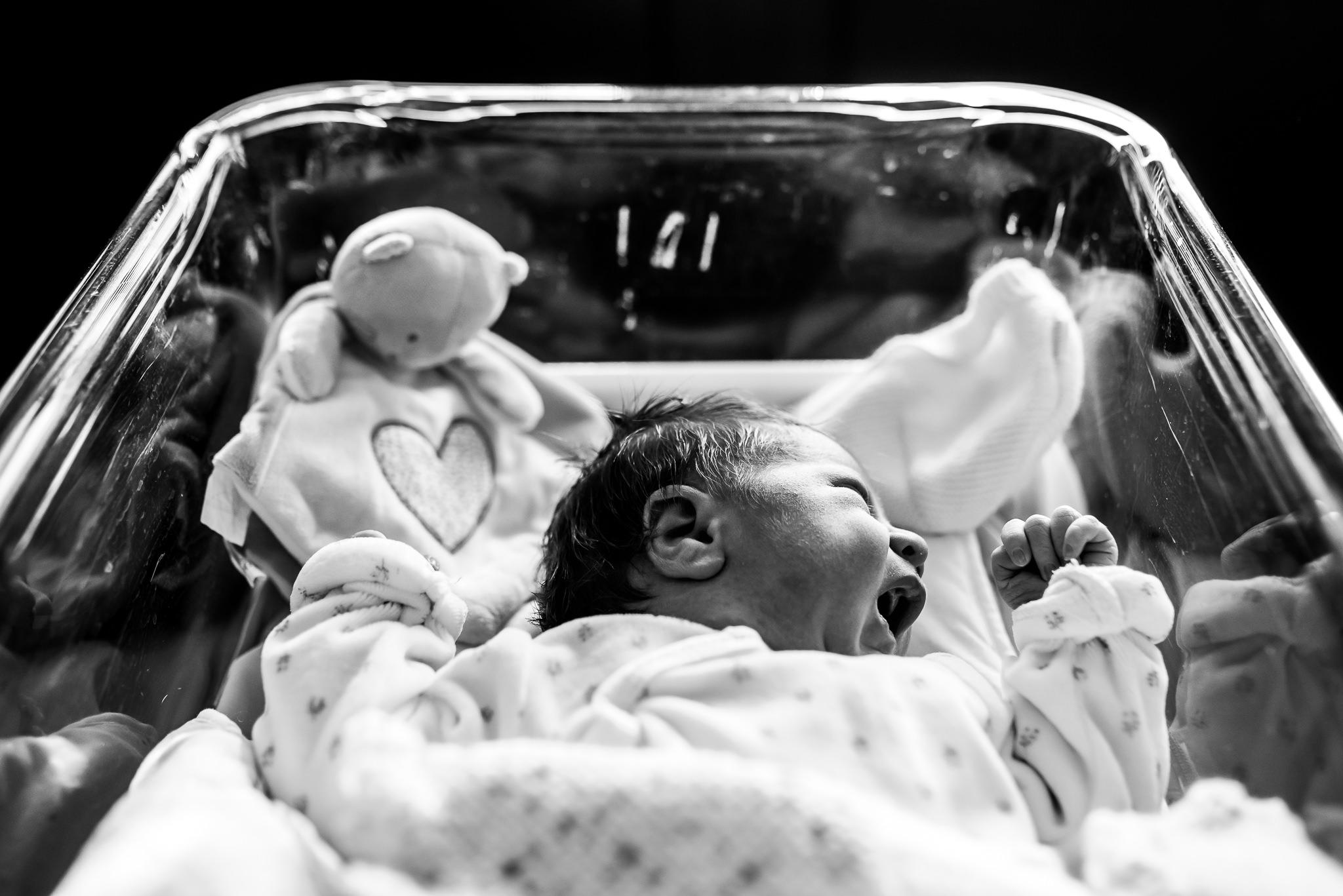 Nouveau-né à la maternité