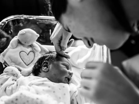 Premiers souvenirs à la maternité de Pertuis