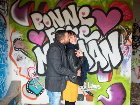 Une séance photo Couple qui fait BADABOUM !