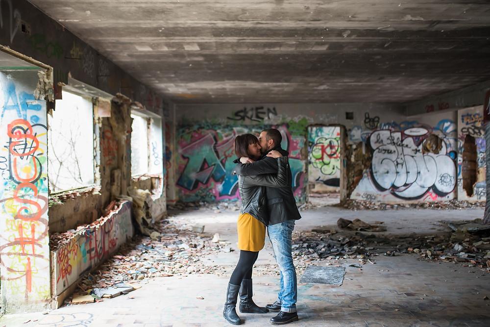Séance Couple URBEX