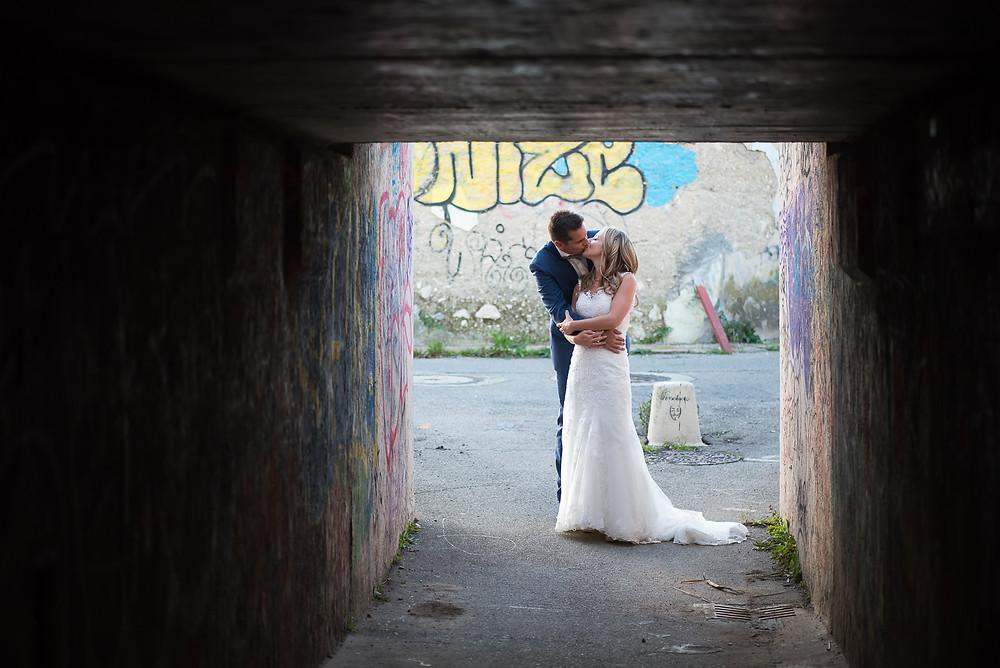 séance couple originale après mariage: day after