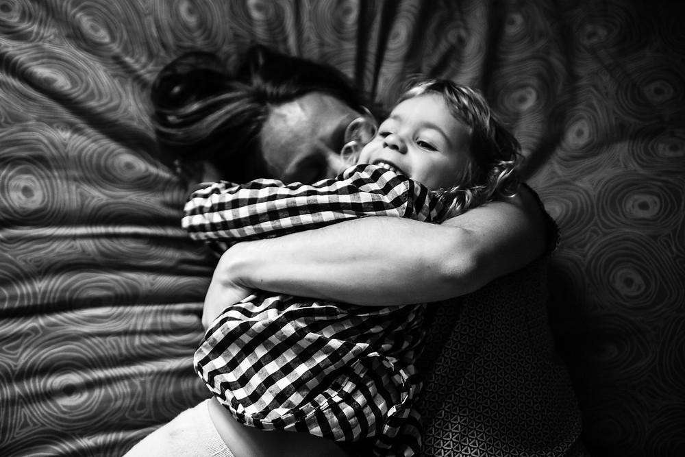 clair entre une mère et sa fille