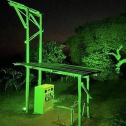 #SolarGiraffe -Global Greening initiative for St Patrick's Day 2021