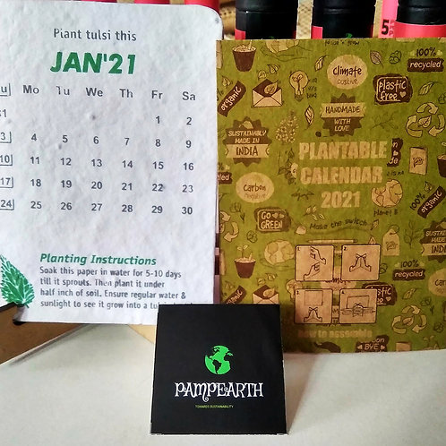 PampEarth Plantable Calendar.