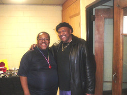 PJ WILLIS WITH SAM CHATMAN ONE OF CHICAGO'S TOP STEPPERS DJ