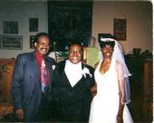 PJ WILLIS WITH SINGER  EUGENE RECORD AT MY WEDDING