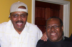 PJ WILLIS WITH CHUCK BARKSDALE OF THE DELLS