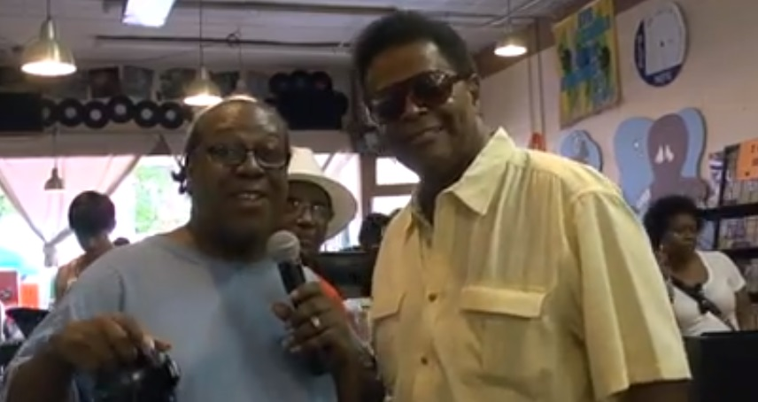 PJ WILLIS WITH BOBBY HUTTON
