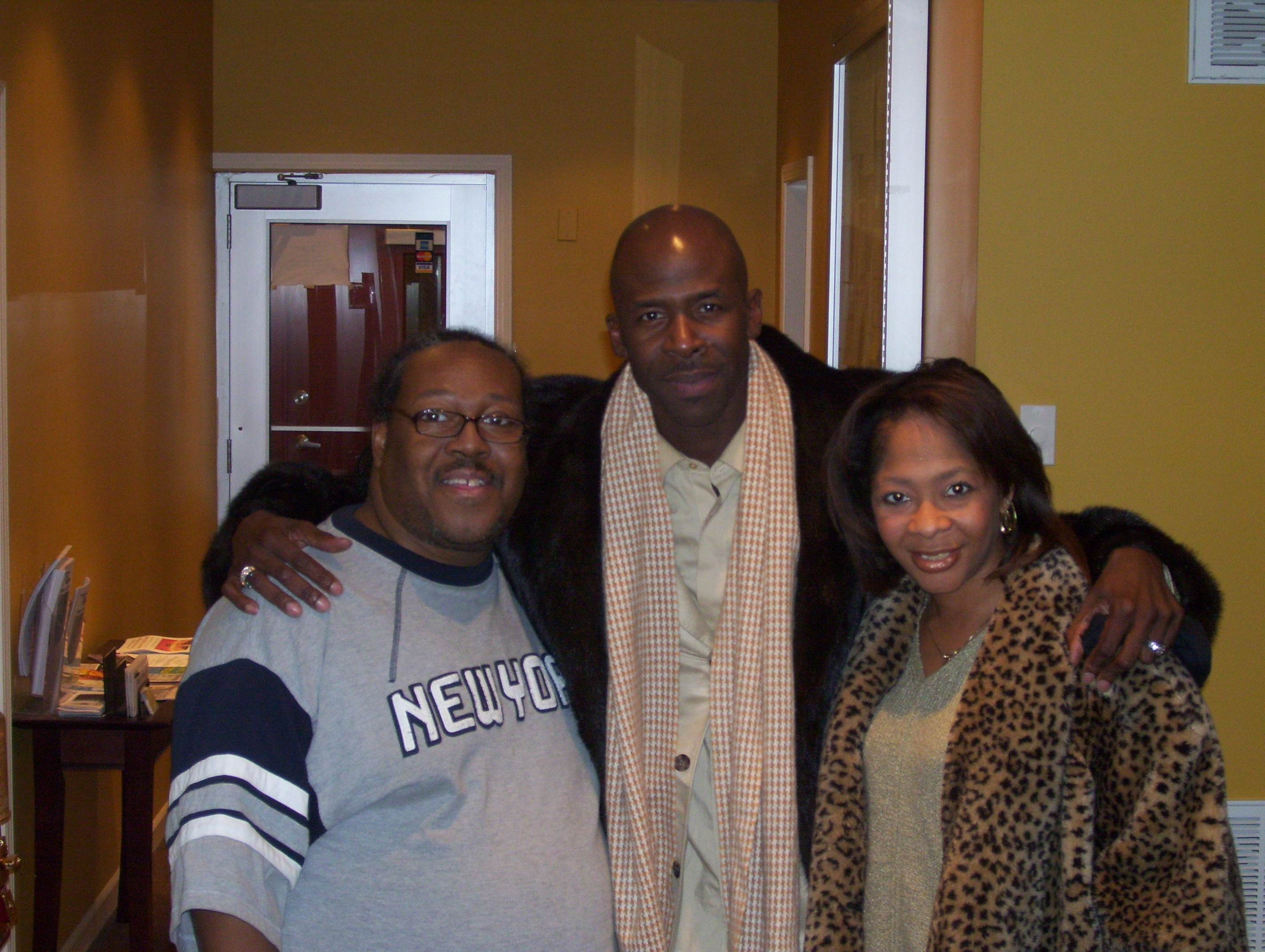 PJ WILLIS WITH GOSPEL GREAT RICKY DILLARD & ZYKIA PICKETT