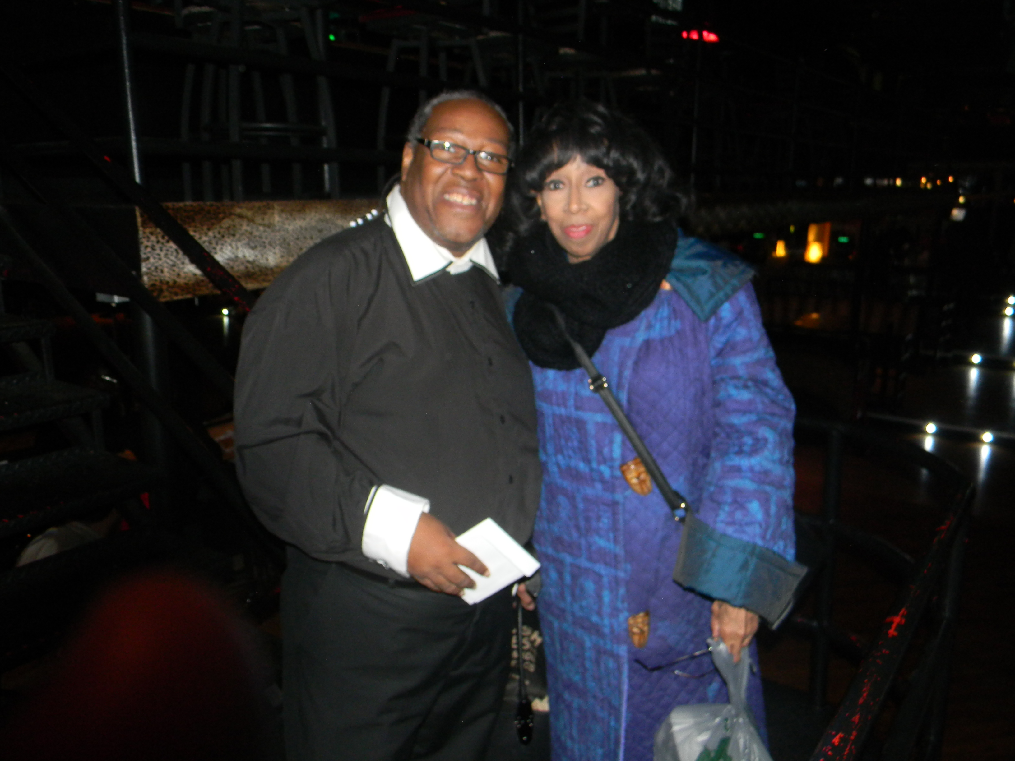 PJ WILLIS WITH JEAN CARNE