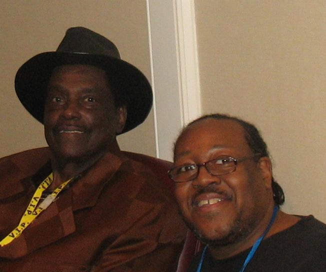 PJ WILLIS WITH BLUES SINGER CICERO BLAKE 2