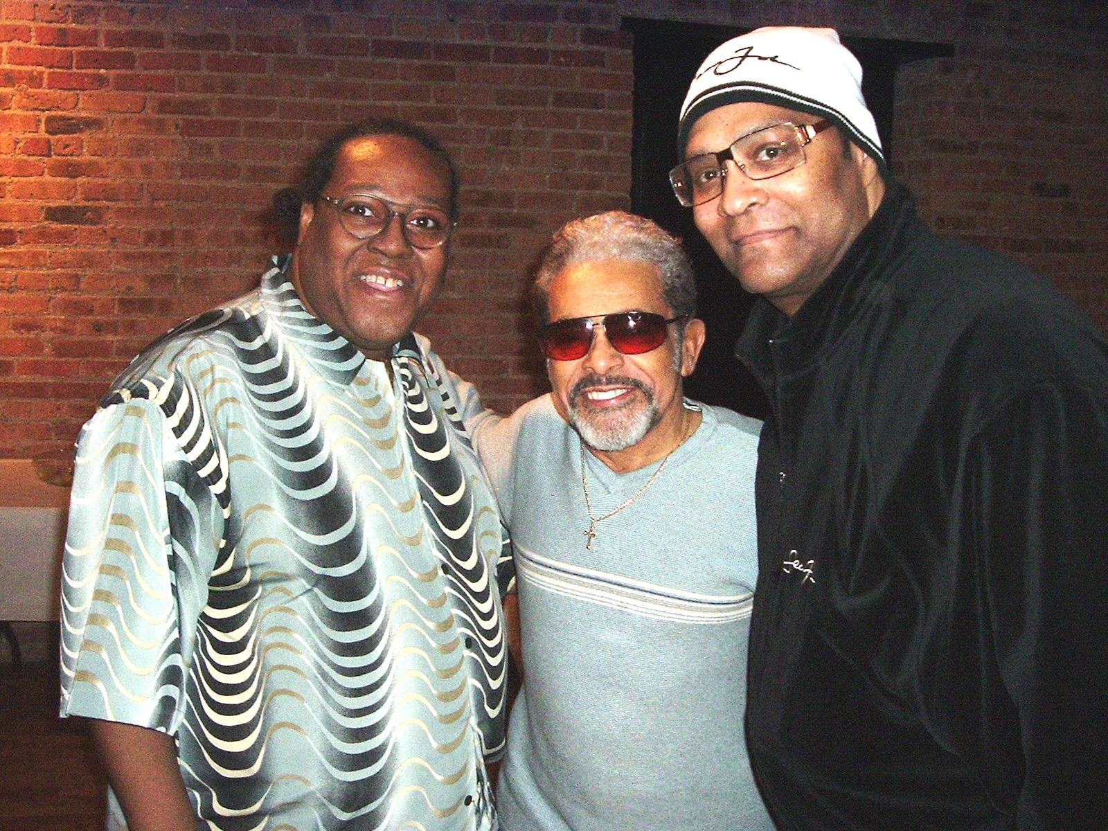 PJ WILLIS WITH SONNY SANDERS & FRED SIMONS OF THE LOST GENERATION