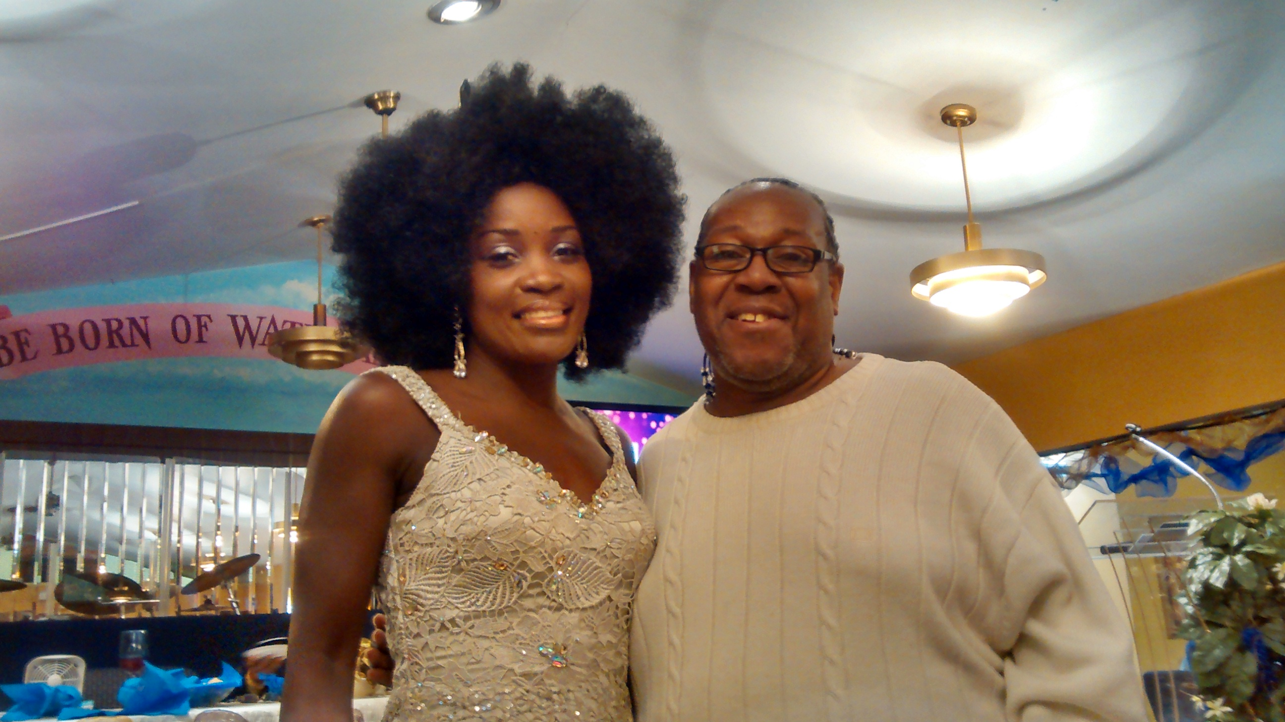 PJ WILLIS WITH LILLIE NICOLE McCLOUD X-FACTOR SINGING SENSATION