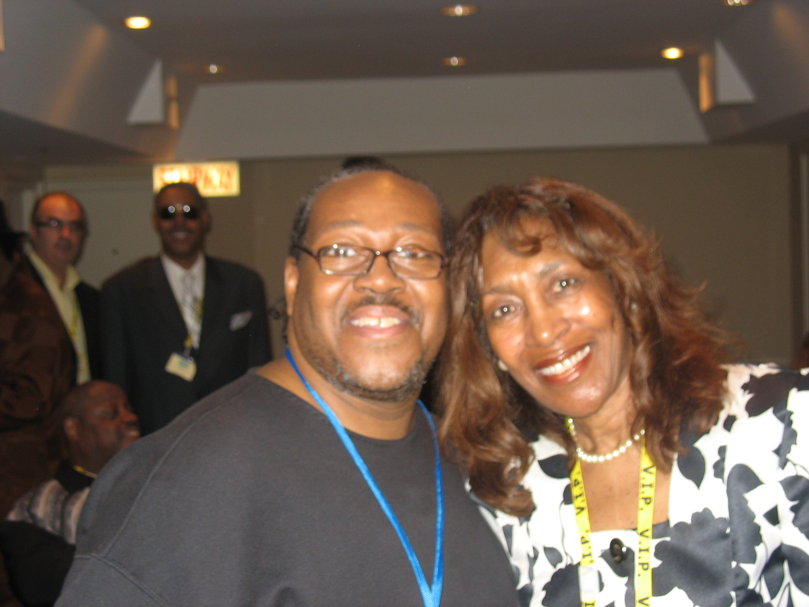PJ WILLIS WITH SINGER JACKIE ROSS