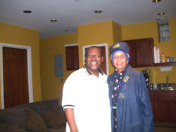 PJ WILLIS WITH MARGRETT BURROUGHS CO-FOUNDER OF THE DUSABLE MUSEUM