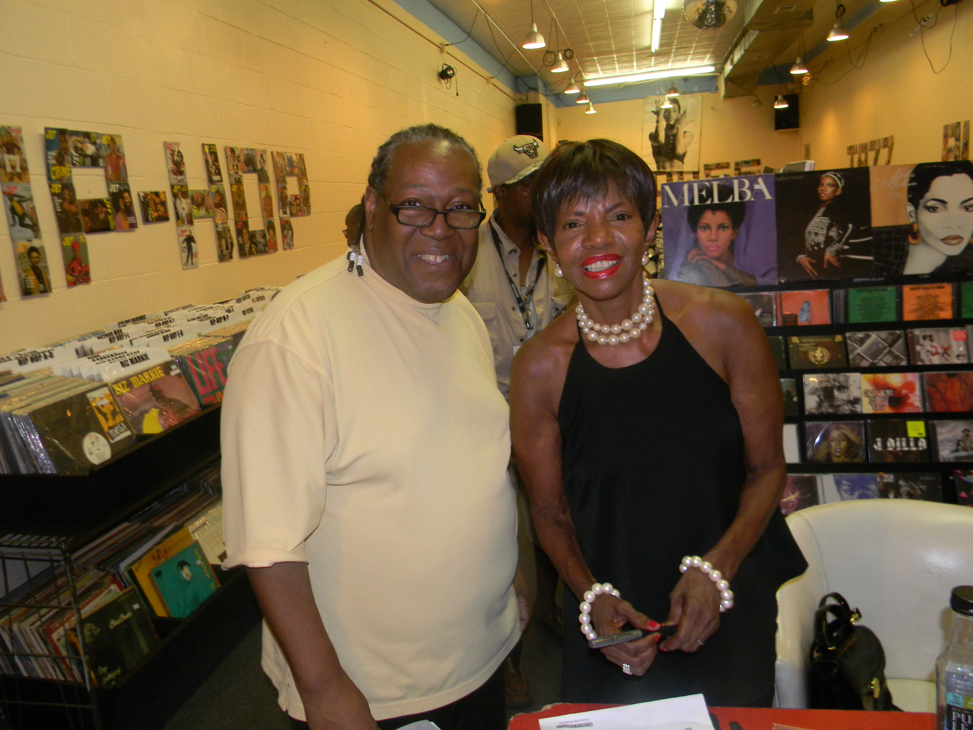 PJ WILLIS WITH MELBA MOORE