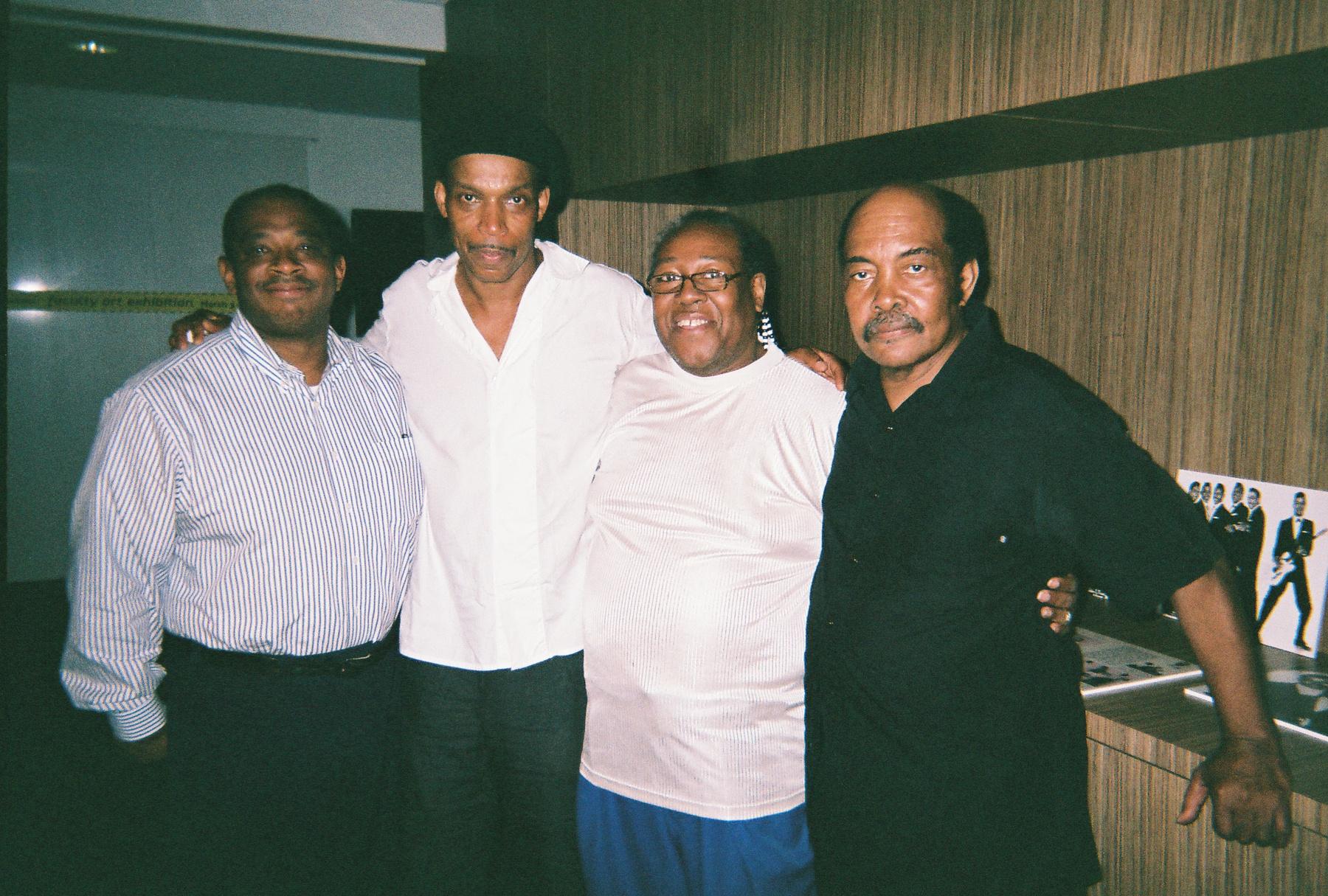 PJ WILLIS WITH CARL DAVIS JR., GREG PARKER & WILLIE HENDERSON