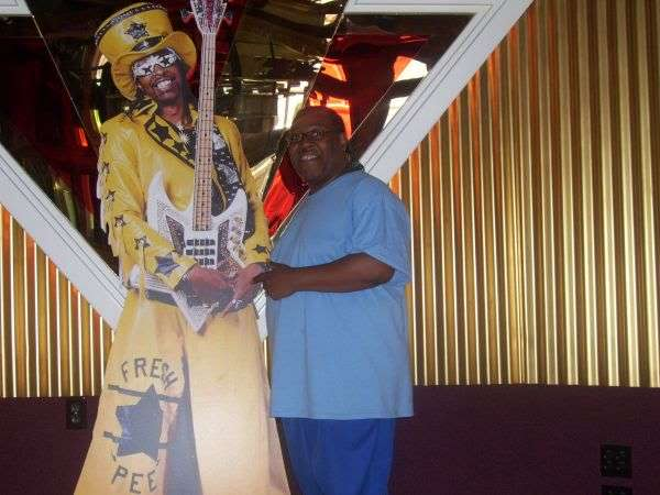 PJ WILLIS WITH BOOTSY COLLINS CUT OUT