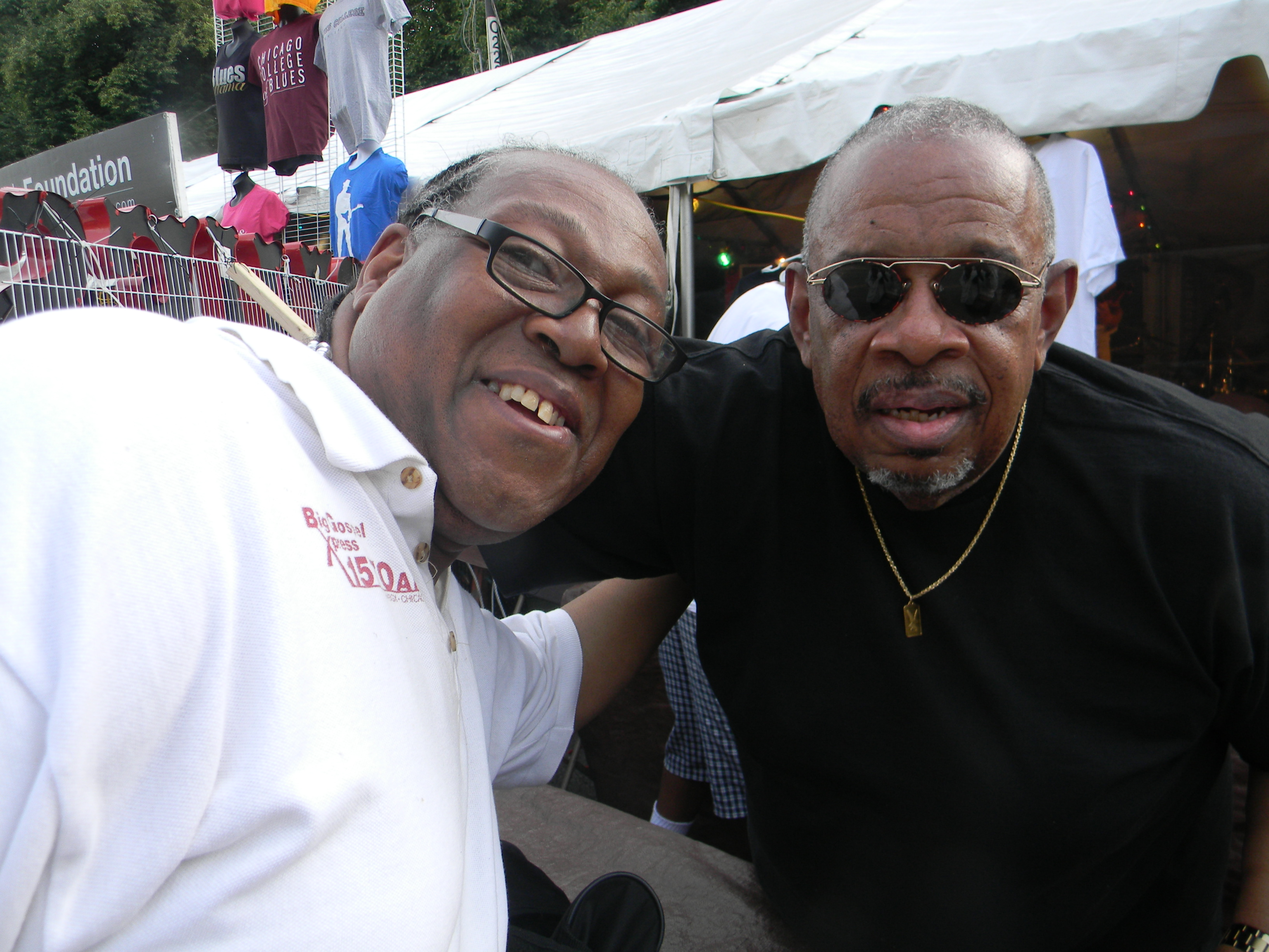 PJ WILLIS WITH FRED WESLEY OF THE JB's