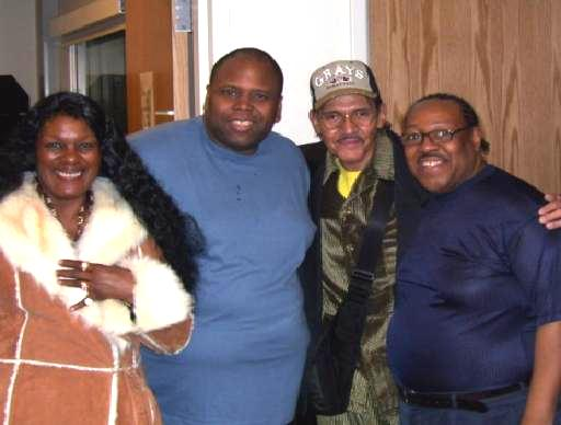 PJ WILLIS WITH RUBY ANDREWS, RAY NEAL & ROBERT LESTER (THE CHI-LITES)