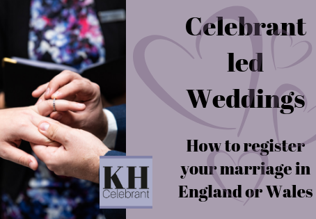 The Legalities behind a Celebrant led Wedding
